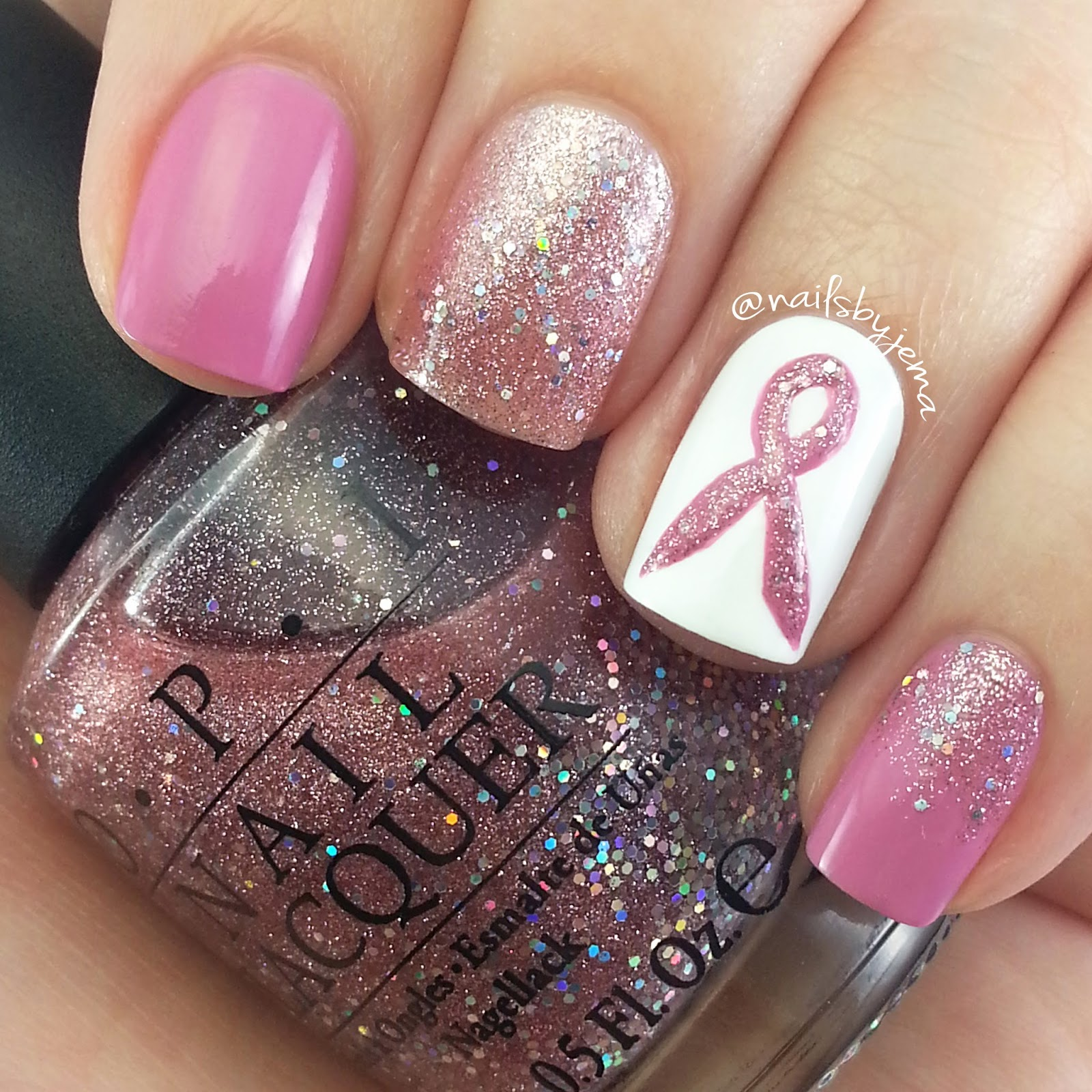 N A I L S B Y J E M A: Going PINK For October and Breast Cancer ...