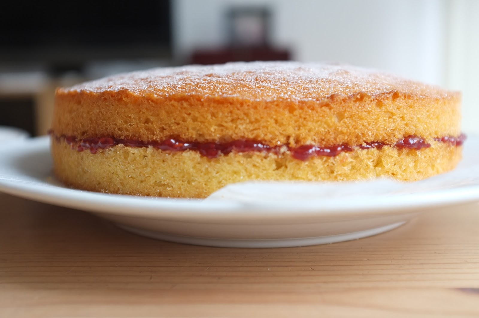 Sponge Cake Creaming Method