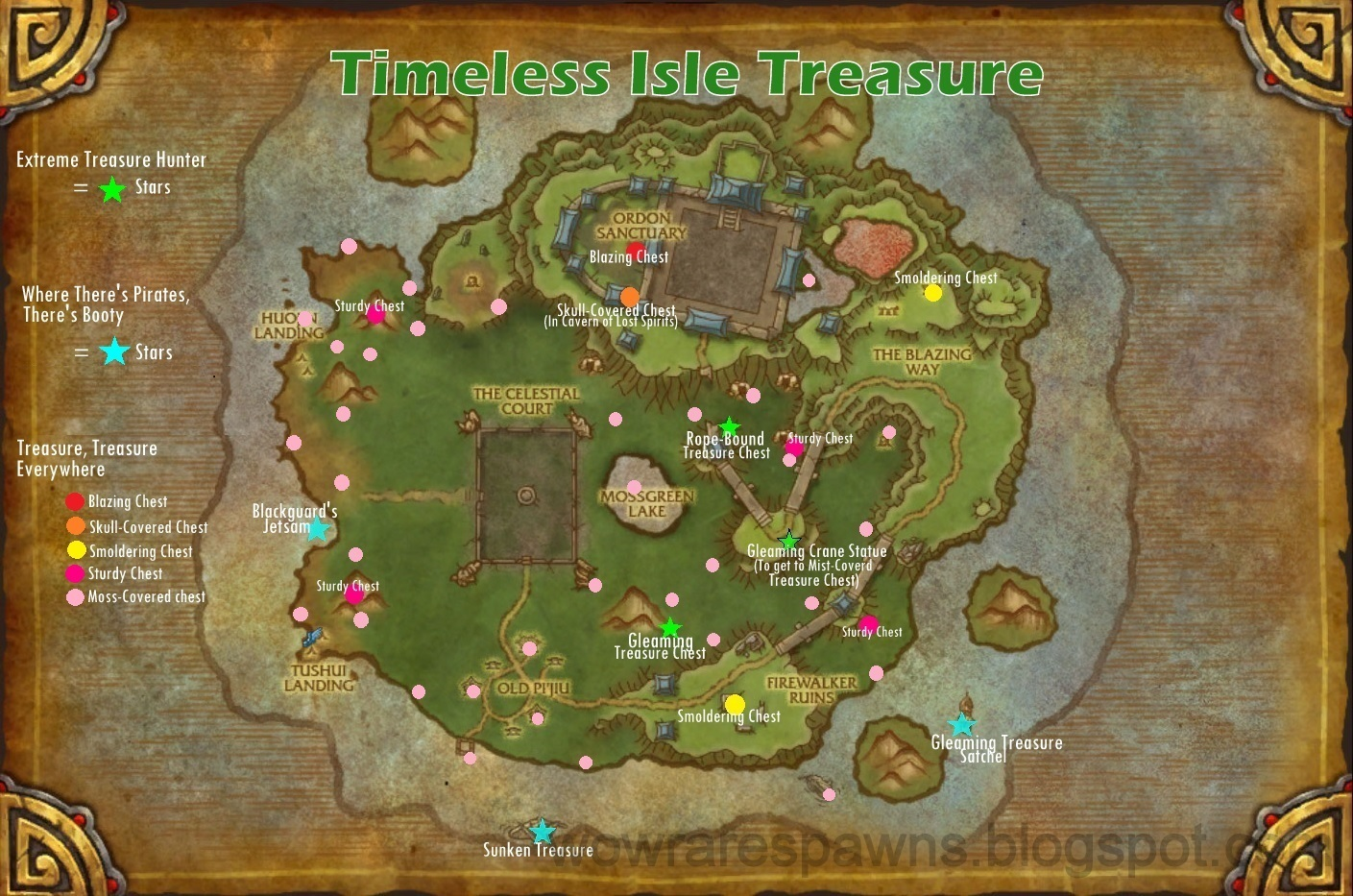WoW Rare Spawns Timeless Isle Treasure