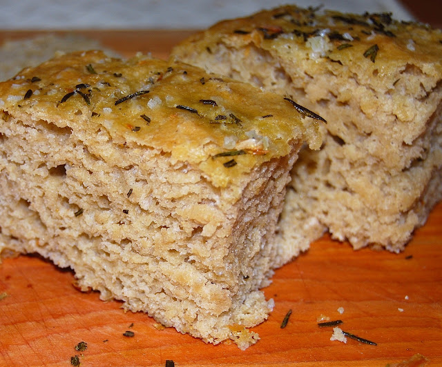 The best recipe for Whole-Wheat Focaccia. Healthy recipe.
