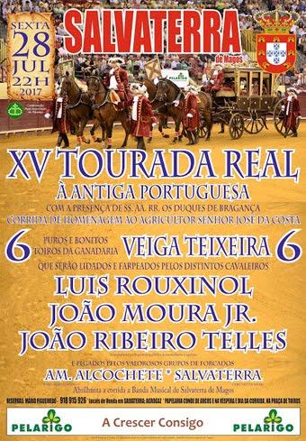 SALVATERRA DE MAGOS (PORTUGAL) 28-07-17. XV TOURADA REAL - ANTIGA PORTUGUESA..