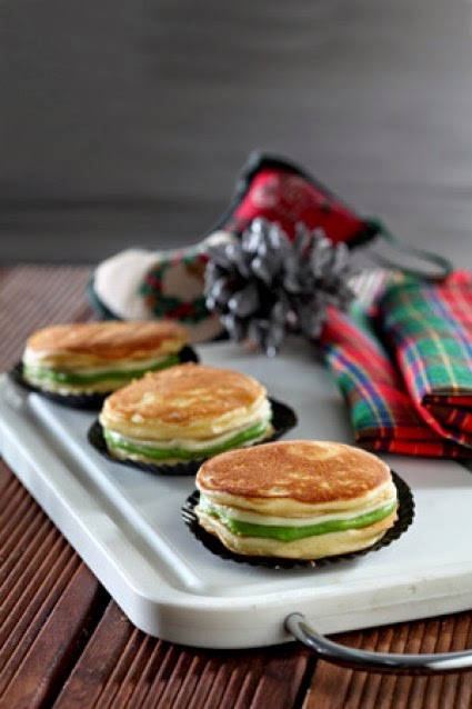 Resep Pancake Dorayaki Greentea