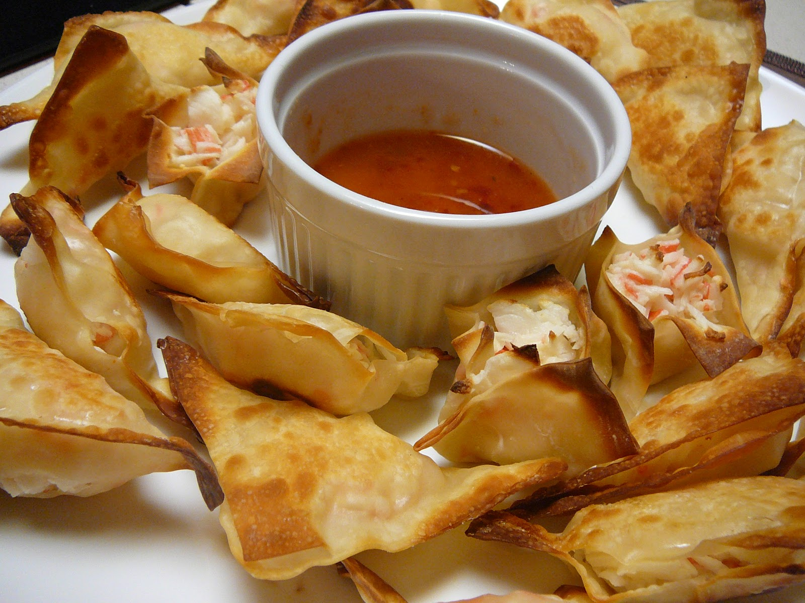 Mostly Food and Crafts: Baked Crab Rangoons