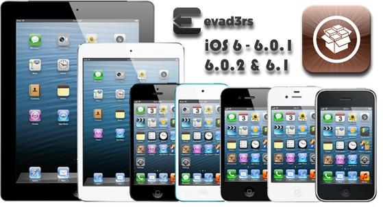 Jailbreak iOS 6.0, 6.0.1, 6.0.2 and 6.1