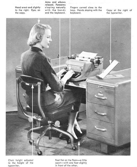 40s era typist