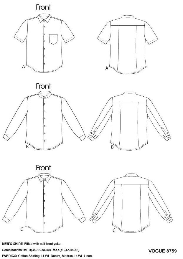 mens shirts fabrics