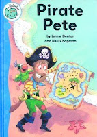 bookcover of Pirate Pete by Lynne Benton