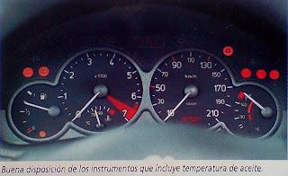 Tablero Peugeot 206 xs 1.6