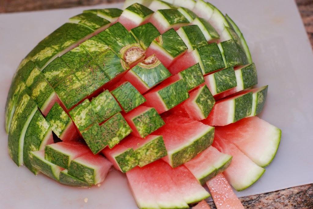 Cara Potong Semangka