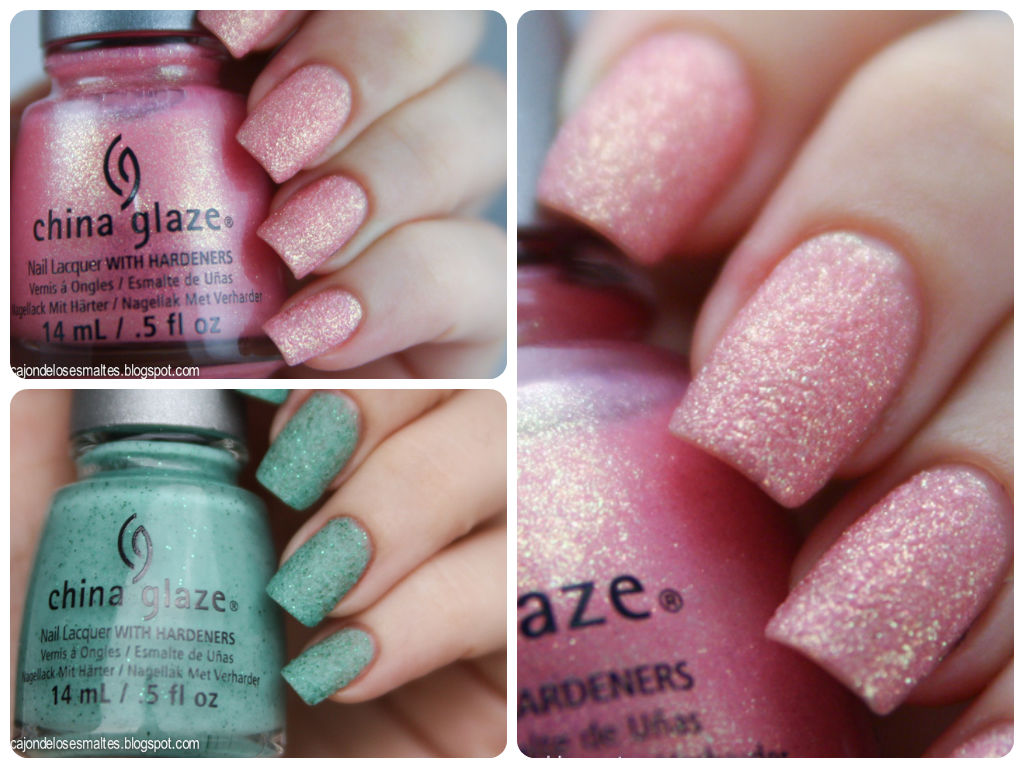 China Glaze - Sea Goddess - Wish on a star fish - Teal the tide turns