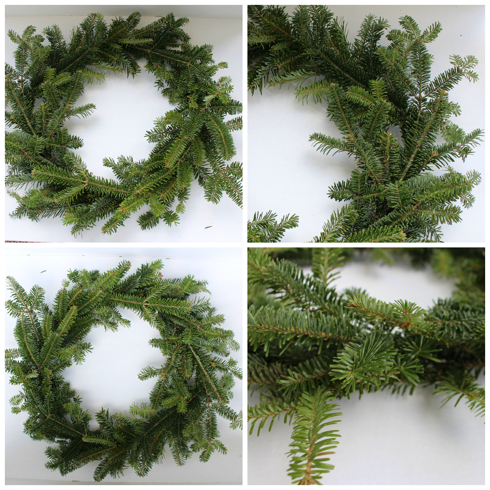 How to make a fresh christmas wreath - Natural Wreath For Christmas