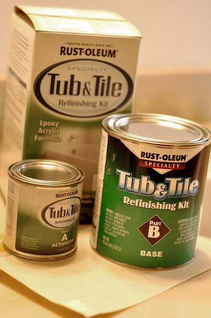 Rustoleum Countertop Paint On Bathtub : Raising Hope: {DIY: Rust-Oleum Tub and Tile Refinishing Kit}