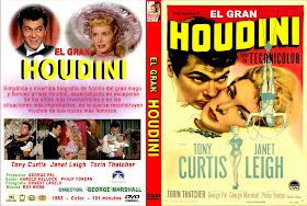 El Gran Houdini 1953 | Cine clásico | Caratula