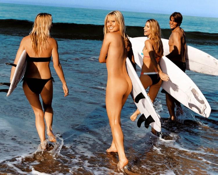 Sexy Sex: Surf Nude!