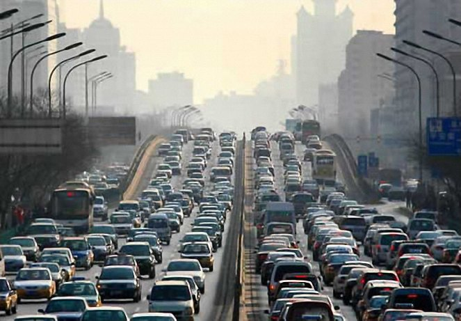 the different causes of traffic jams
