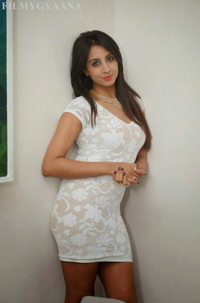 Sanjana Latest Stills at Sapphire Spa Launch Photos