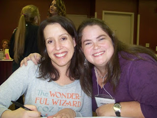 Me with Julia Quinn at the M&M Book Signing