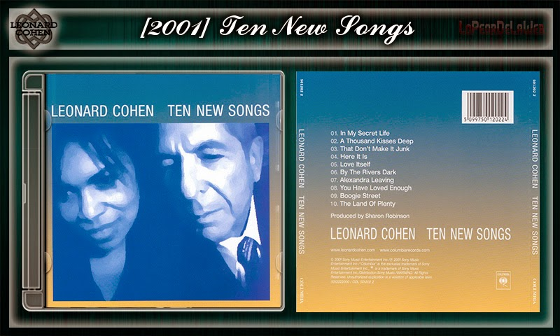 Leonard Cohen | Discografia de estudio | 1967-2015 | 320Kbs
