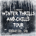 Blog Tour: Winter Thrills And Chills by E.J. Wesley ~ Spotlight ~ Author Interview ~  Giveaway!!!