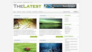 Latest Blogger Template