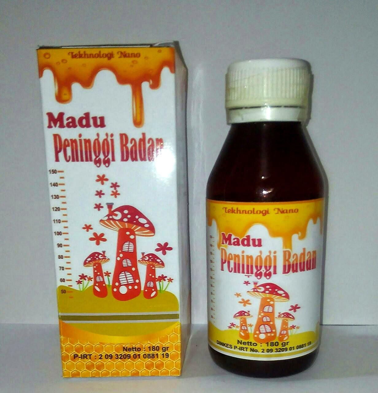 jual obat herbal madu peninggi badan alami anak dan remaja