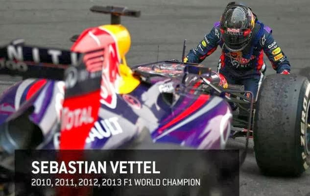 Sebastian Vettel logró en la India su cuarta Corona