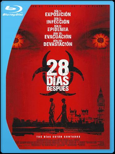 28 días después (2002) BrRip 720p Latino
