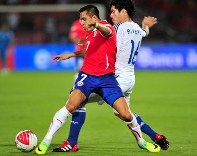 Chile 2 - 0 Paraguay (1)