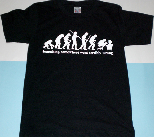 Lustiges Evolutions T-Shirt