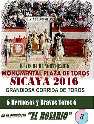 GRANDIOSA CORRIDA EN SICAYA!!