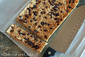 PB2 Quinoa Granola Bars {Gluten-Free, Dairy-Free, Vegan, Low-FODMAP}  /  Delicious as it Looks
