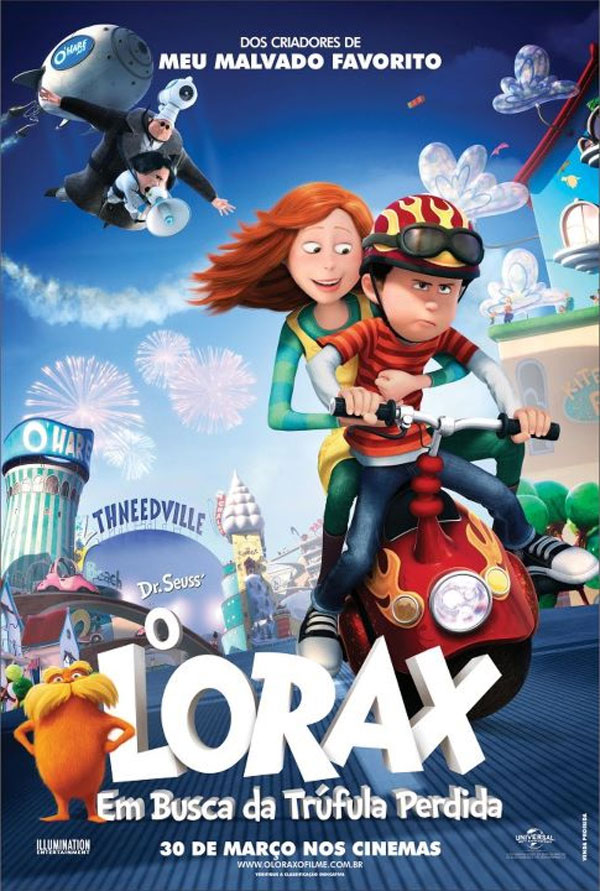Ted and audrey from the lorax movies pinterest lorax
