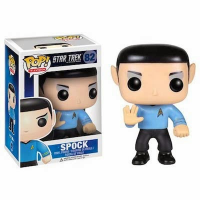 Cabezón Spock de Star Trek