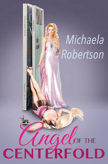 Book Cover - Angel of the Centerfold by Michaela Robertson