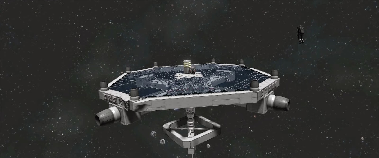 Space Engineers Station