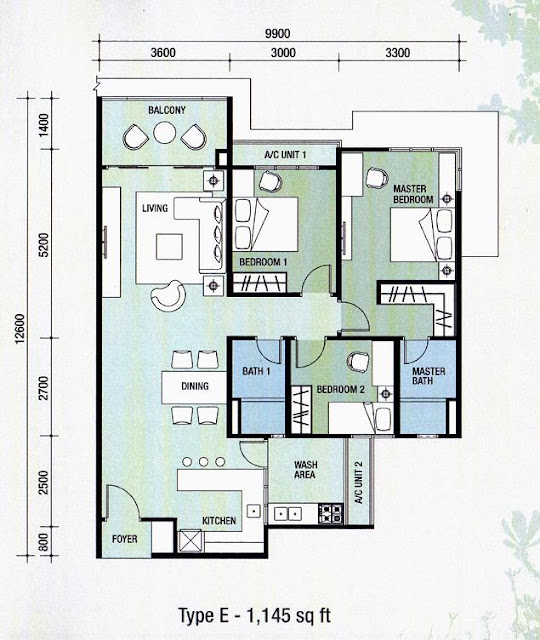 Apartment unit plans apartment design ideas for Two unit apartment plans
