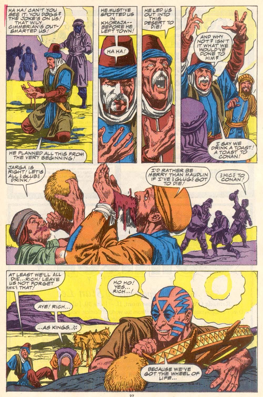 Conan the Barbarian (1970) Issue #223 #235 - English 21