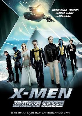 X Men%2B %2BPrimeira%2BClasse Download X Men: Primeira Classe   DVDRip Dual Áudio Download Filmes Grátis