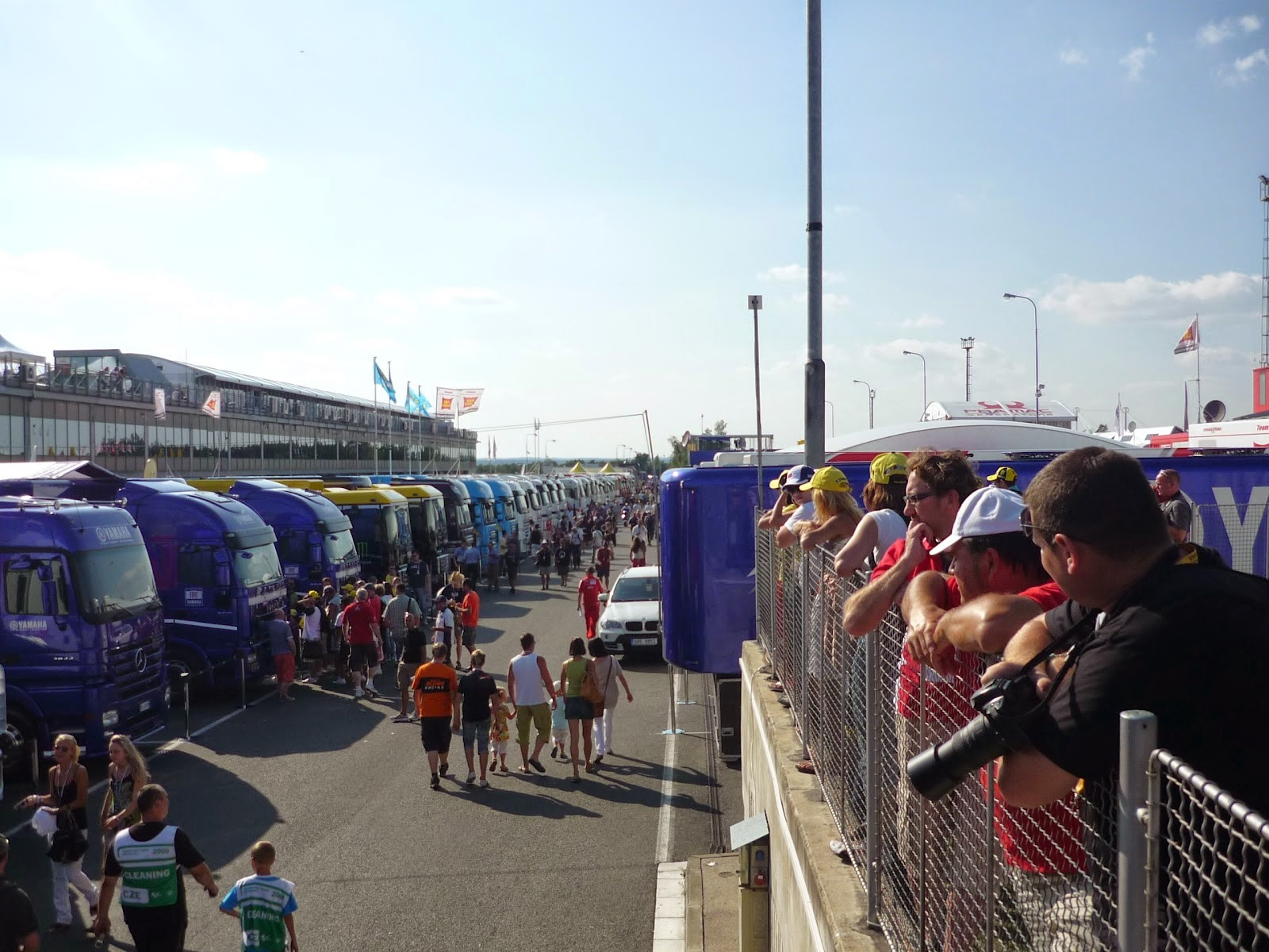 paddock del circuito de Brno