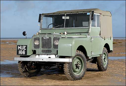 Beach Auto Brokers First Land Rover Series 1 1948 Hue 166