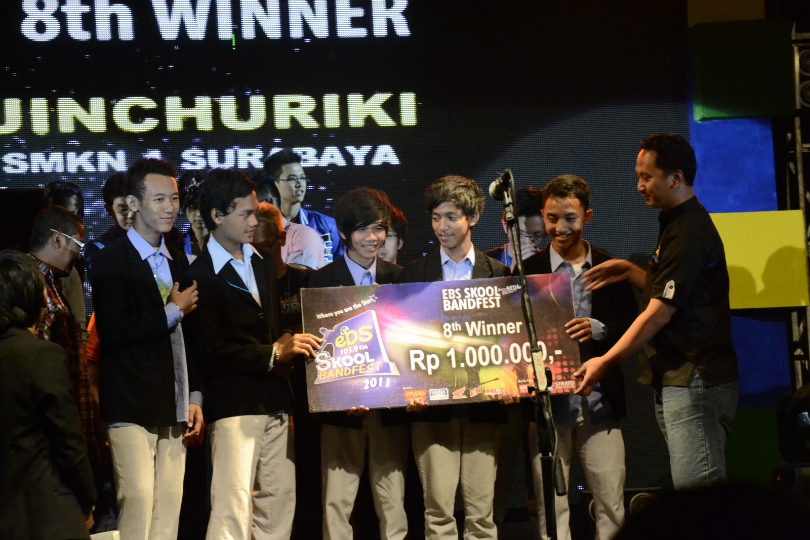 Jinchuriki (SMKN 1 Surabaya) : 8th Winner