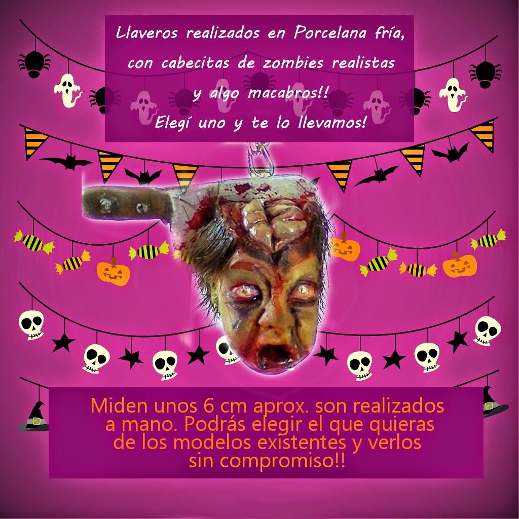 Llaveros Halloween