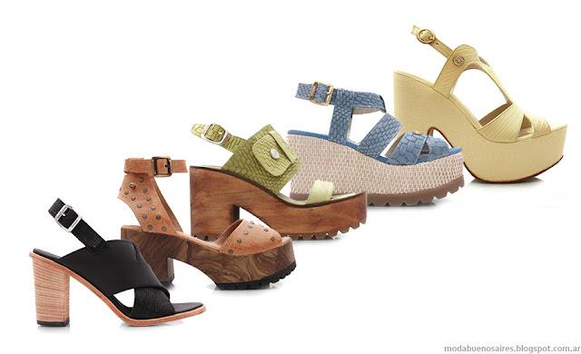 Sandalias 2016. Blaquè primavera verano 2016, tendencia en calzado femenino. Moda 2016.