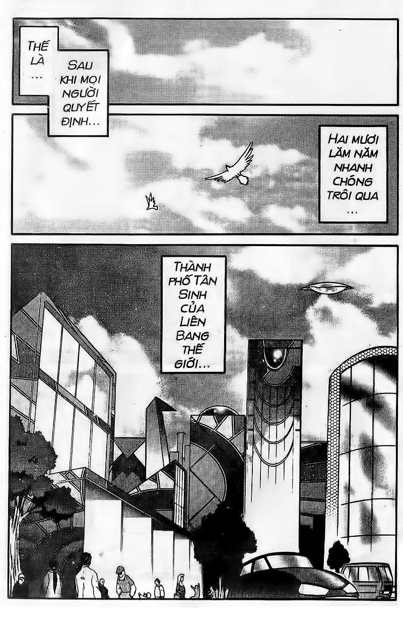 Origami Fighter-Hiệp Sĩ Giấy chap 103 End Trang 8 - Mangak.info