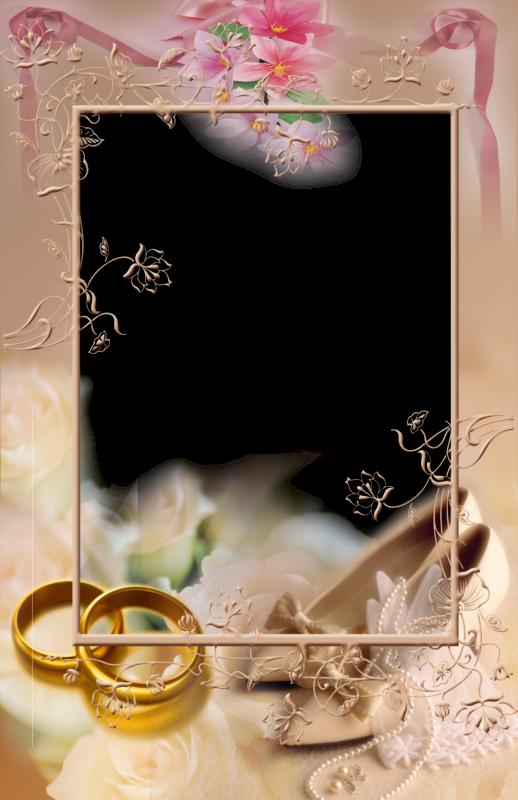 5 hermosos marcos para fotos en png de matrimonio o boda - Marcos de fotos de pared ...
