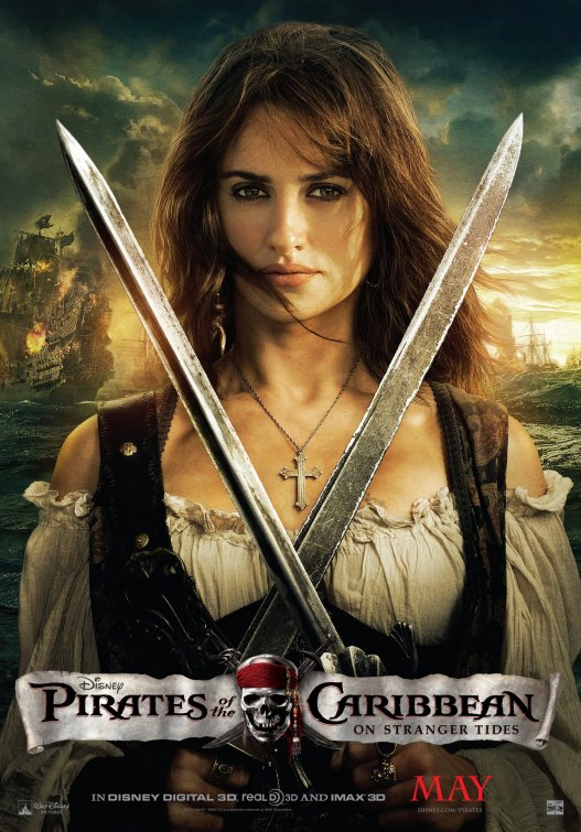 Pirates of the Caribbean Angelica poster