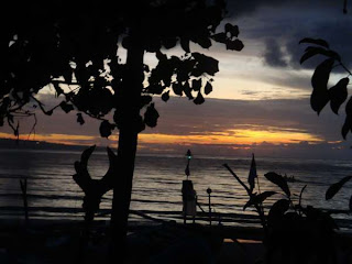 Sunset at Jimbaran