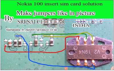 Thread: Nokia 100 insert sim card problem repair solution