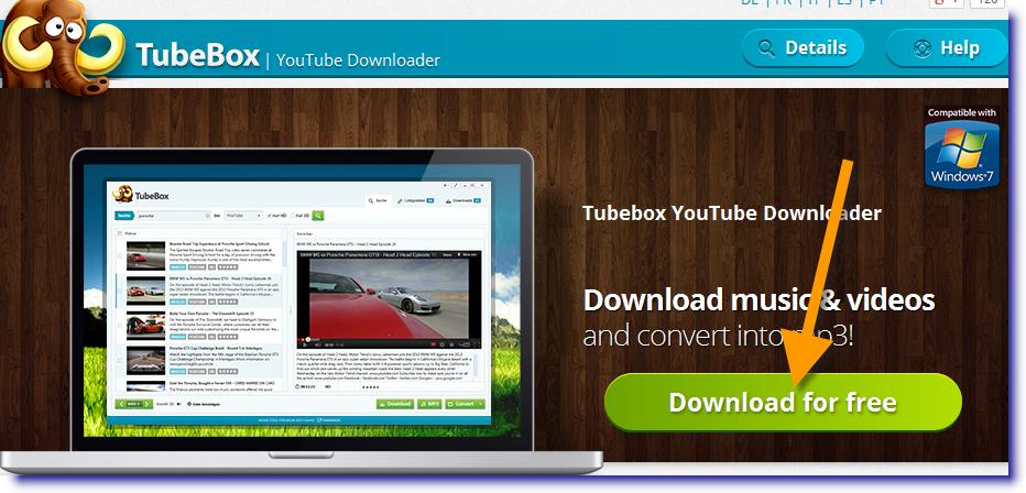 تحميل برنامج TubeBox