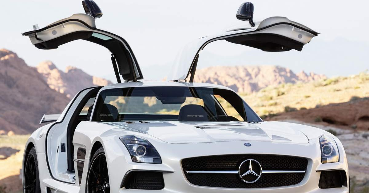 Mercedes sls amg chega ao brasil pre o r milh es for R h mercedes benz